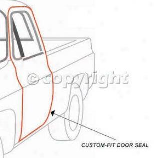1997-2006 Jeep Wrangler (tj) Weatheretrip Seal Fairchild Industries Jeep Weatherstrip Sezl Kd3012 97 98 99 00 01 02 03 04 05 06
