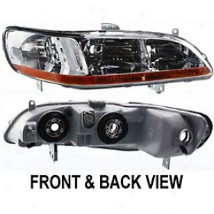 1998-2000 Honda Accord Headlight Replacement Honda Headlight 20-5119-01 98 99 00