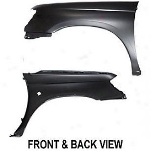 1998-2000 Nissan Frontier Fender Replacement Nissan Fender 10527 98 99 00