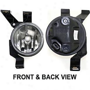 1998-2000 Volkswagen Beetle Fog Whitish Replacement Volkswagen Fog Light 19-5100-00 98 99 00