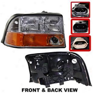1998-2001 Gmc Jimmy Headlight Replacement Gmc Headlight 20-5421-00 98 99 00 01