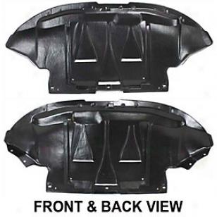 1998-2001 Volkswagen Passat Engine Splash Shield Replacement Volkswagen Engine Splash Shield V310101 98 99 00 01