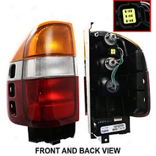 1998-2002 Honda Passport Tail Light Re-establishment Honda Tail Light I730120 98 99 00 01 02