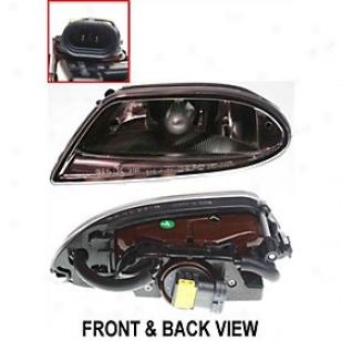 1998-2003 Mercedes Benz Ml320 Fog Light Replacement Mercedes Benz Fog Light M107538 98 99 00 01 02 03