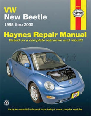 1998-2005 Volksswagen Beetle Repair Manual Haynes Volkswagen Repair Manual 96009 98 99 00 01 02 03 04 05
