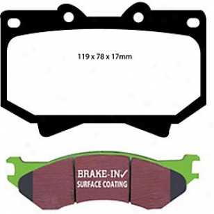 1998-2007 Lexus Lx470 Brake Cushion Set Ebc Lexus Brake Pad Set Dp61319 98 99 00 01 02 03 04 05 06 07