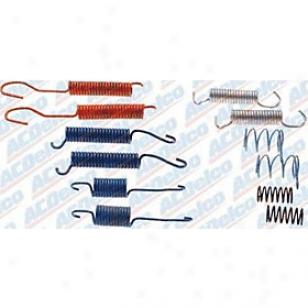 1999-2000 Cadlllac Escalade Brake Shoe Spring Outfit Ac Delco Cadillac Brake Shoe Spring Kit 179-969 99 00