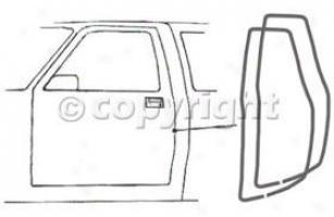 1999-2000 Cadillac Escalade Weatherstrip Keep close Precision Parts Cadillac Weatherstrip Seal Dwp 1110 88 99 00
