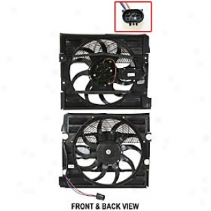 1999-2001 Bmw 740il A/c Condenser Use a ~ upon Replacement Bmw A/c Condenser Fan Arbb190901 99 00 01