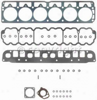 1999-2001 Jeep Cherokee Engine Gasket Set Felpro Jeep Engine Gasket Set Hs9076pt4 99 00 01