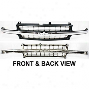 1999-2002 Chevrolet Silverado 1500 Grille Replacement Chevrolet Grille 20112 99 00 01 02
