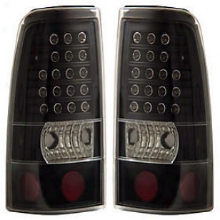 1999-2002 Chevrolet Silveado 1500 Tail Light Anzo Chevrolet Tail Light 311012 99 00 01 02