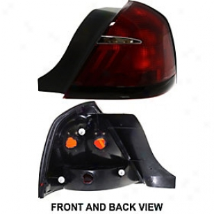 1999-2002 Mercury Grand Marquis Tail Light Replacement Mercury Tail Light 11-5373-01 9 900 01 02
