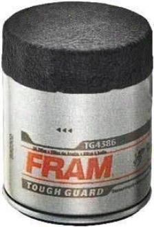 1999-2003 Chevrolet Tracker Oil Filter Fram Chevrolet Oil Filter Tg4386 99 00 01 02 03