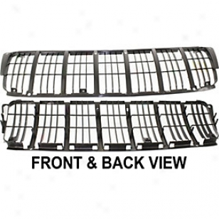 1999-2003 Jeep Grand Cherojee Grille Insert Replzcement Jeep Grille Insert Jp3105q 99 00 01 02 03