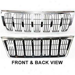 1999-2003 Jeep Grand Cherokee Grille Replacement Jeep Grille Jp3106 99 00 01 02 03