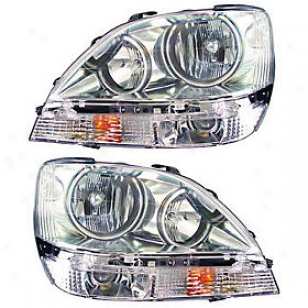 1999-2003 Lexus Rx300 Headlight Anzo Lexus Headlight 111048 99 00 01 02 03