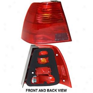 1999-2003 Volkswagen Jetta Tail Light Replacement Volkswagen Tail Light 67389 99 00 01 02 03