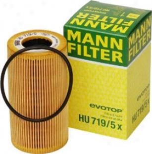 1999-2010 Porsche 911 Oil Filter Mann-filter Plrsche Oil Filter Hu719/5x 99 00 01 02 03 04 05 06 07 08 09 10