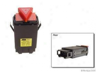 2000-2001 Aud iA4 Hazard Flasher Switch Oes Genuine Audi Hazard Flasher Switch W0133-1621506 00 01