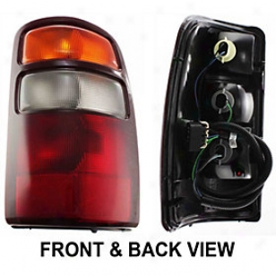 2000-2001 Chevrolet Tahoe Tail Light Replacement Chevrolet Taiil Light C730167 00 01