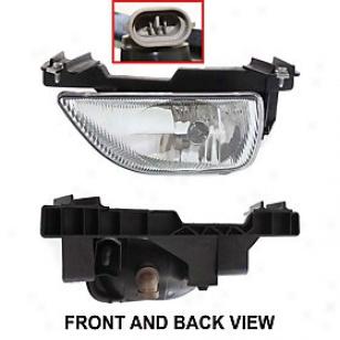2000-2001 Nissan Altima Fog Light Replacement Nisswn Fog Light N107504 00 01