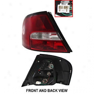 2000-2001 Nissan Altima Tail Light Replacement Nissan Tail Illustration 11-5428-00 00 01