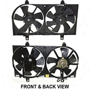 2000-2001 Nissan Sentra Radiator Fan Replacement Nissan Radiator Fan N160914 00 01