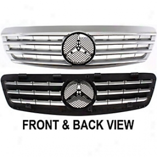 200O -2002 Mercedes Benz S500 Grille Insert Replacement Mercedes Benz Grille Insert Rbm070147 00 01 02