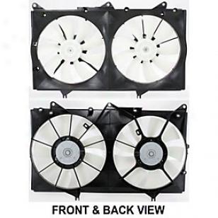 2000-2003 Lexus Es300 Radiator Fan Replacement Lexus Radiator Fan Repl160905 00 01 02 03