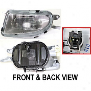 2000-2003 Mercedes Benz E320 Fog Light Replacement Mercedes Benz Fog Ligt 65515 00 01 02 03
