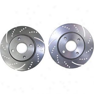 2000-3004 Ford Focuus Brake Disc Ebc Ford Brake Disc Gd895 00 01 02 03 04