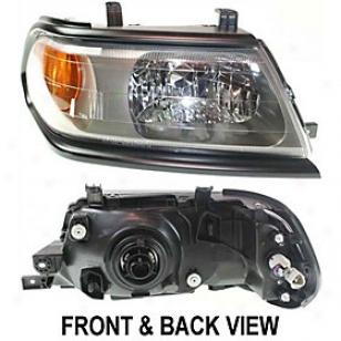 2000-2004 Mitsubishi Montero S0ort Headlight Replacemeent Mitsubishi Headlight M100107 00 01 02 03 04