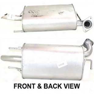 2000-2004 Toyota Avalon Muffler Replacement Toyota Muffler Rept961110 00 01 02 03 04