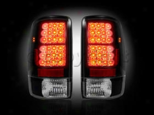 2000-2006 Chevrolet Tahoe Tail Light Recon Chevrplet Tail Light 264177bk 00 01 02 03 04 05 06