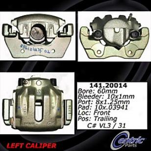2000-2006 Jaguar Xk8 Brake Caliper Centric Jaguar Brake Caliper 141.20014 00 01 02 03 04 05 06