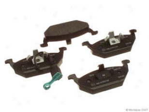 2000-20066 Volkswagen Golf Brake Pad Set Textar Volkswagen Brake Pad Set W0133-1615394 00 01 02 03 04 05 06