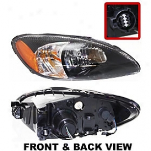 2000-2007 Ford Taurus Headlight Replacement Ford Headlight F100109 00 01 02 03 04 05 06 07