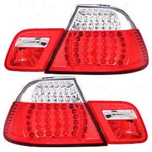 2000 Bmw 323ci Tail Light Anzo Bmw Tail Light 321105 00