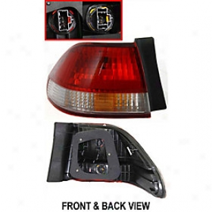 2001-2002 Honda Acco5d Tail Light Replacement Honda Tail Light H730114q 01 02