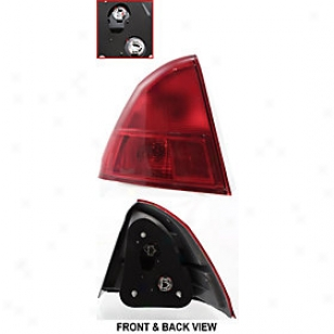2001-2002 Honda Civic End Kindle Replacement Honda Tail Light 11-5434-00 01 02