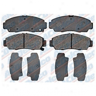 2001-2003 Acura Cl Brake Pad Set Ac Delco Acura Brake Pad Set 17d787 01 02 03