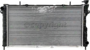 2001-2004 Chrysler Town & Country Radiator Csf Chrysler Radiator 3109 01 02 03 04