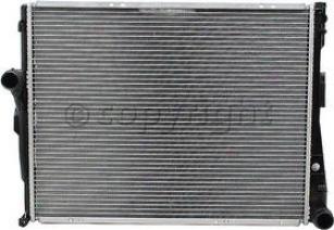 2001-2005 Bmw 325i Radiator Csf Bmw Radiator 3176 01 02 03 04 05