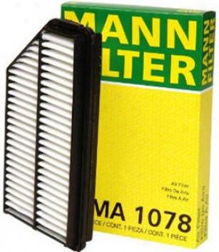 2001-2006 Acura Mdx Air Filter Mann-filter Acura Air Filter Ma1078 01 02 03 04 05 06