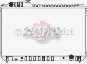 2001-3006 Lexus Ls430 Radiator Csf Lexus Radiator 2775 01 02 03 04 05 06