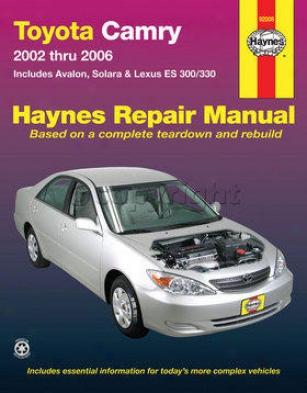 2002-2003 Lexus Es300 Retrieve Manual Haynes Lexus Repair Manual 92080 02 03