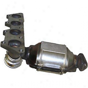 2002-2003 Mitsubishi Lancer Catalytic Converter Oriental Mitsubishi Catalytic Converter 40567 02 03