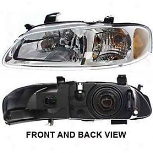 2002-2003 Nissan Sentra Headlight Replacement Nissan Headligt N100112 02 03