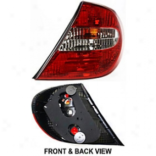 2002-2004 Toyota Cmry Tail Light Replacement Toyota Tail Ljght T730165s 02 03 04